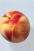 A whole peach