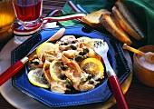 Vitello tonnato (veal with tuna and caper sauce)
