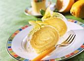 Schlanke Zitronen-Rolle