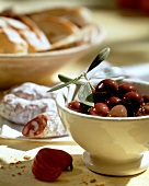 A Bowl of Kalamata Olives