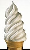 Soft Serve Vanilla in a Cone