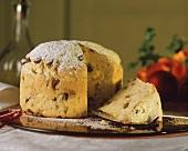 Panettone (classic Christmas cake, Italy)