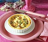 Mini-quiche, small leek tartlet