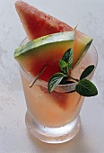 Non-alcoholic watermelon drink
