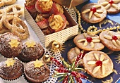 Various biscuits & gingerbreads for the Christmas period