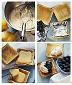 Preparing filled lemon tartlets
