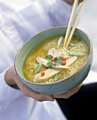 Noodle Soup with Chicken (Asian Style)