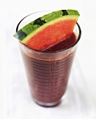 Blueberry and melon drink