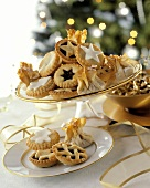 Mince pie (English tartlet with mincemeat filling)