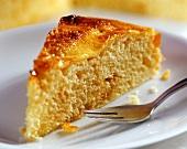 Tarte au sucre (sugar cake)