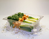 Vegetables on Ice