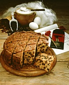 Fruit cake (Bara Brith) from Wales
