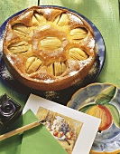 Apple poppy seed cake