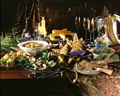 Christmas appetiser buffet