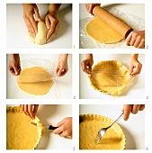 Making a pastry case