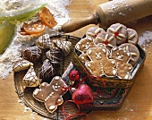 Gingerbread triangles, bears & Nuremberg gingerbread