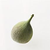 A whole fresh fig