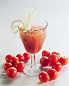 Non-alcoholic Bloody Mary