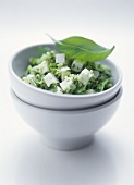 Herb couscous with feta