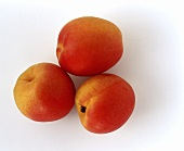 Three Whole Apricots