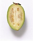 Half a feijoa (pineapple-guava)