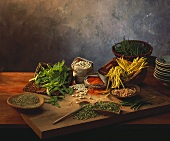 Still life with legumes