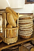 Bread and bread baskets