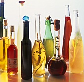 Various types of vinegar