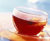 Hot Fruit Tea in Cup