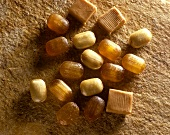 Honey sweets and toffees