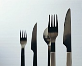 Cutlery in light and shadow