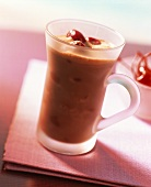Cocoa with cherries