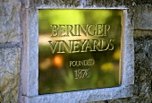 Entrance of Beringer Winery, Napa Valley, California