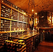 Wine cellar & tasting room in Schloss Korb, Missian, S, Tyrol