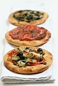 Pizzette (Drei kleine Pizzen, Italien)