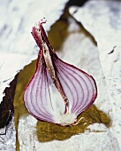 Half a red onion