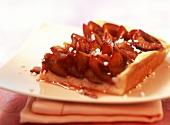 A piece of plum cake