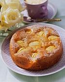 Sunken apple cake