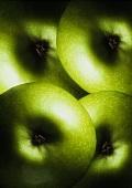 Granny Smith Apples Close Up