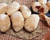 Brazilian pastries with guava puree (Pao de minuto)