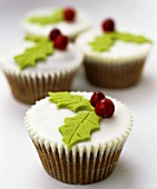 Cup-cakes for Christmas