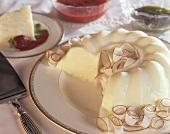 Manjar branco (Brazilian coconut pudding)