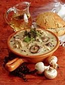 Mushroom stew with pork