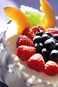 Quark Mousse with Berries