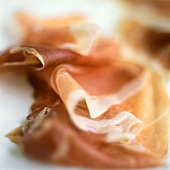 Slices of Serrano Ham