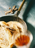 Pancake with Van der Hum liqueur