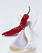 Chili pepper with napkin