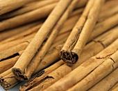Cinnamon Sticks from Overhead