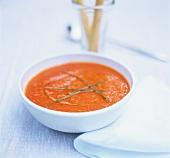 Cold pepper soup