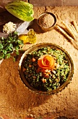 Tabbouleh salad from Lebanon